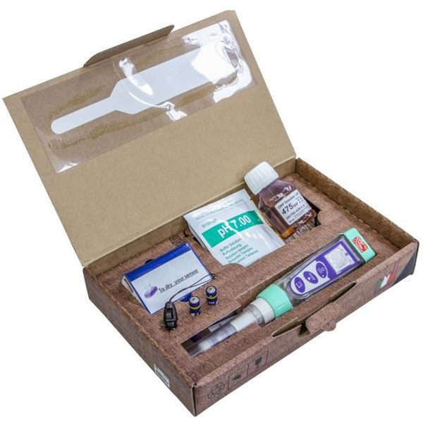 Tester pH serie 1 in Kit